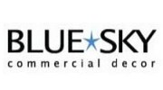 Blue Sky Commercial Decor