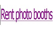 Rent Photo Booths